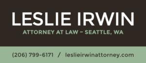 Leslie Irwin Attorney Logo